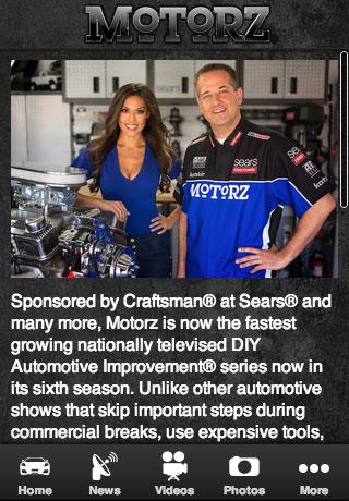 Motorz TV Show App