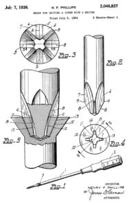 Phillips Screw Driver Patent 2046837