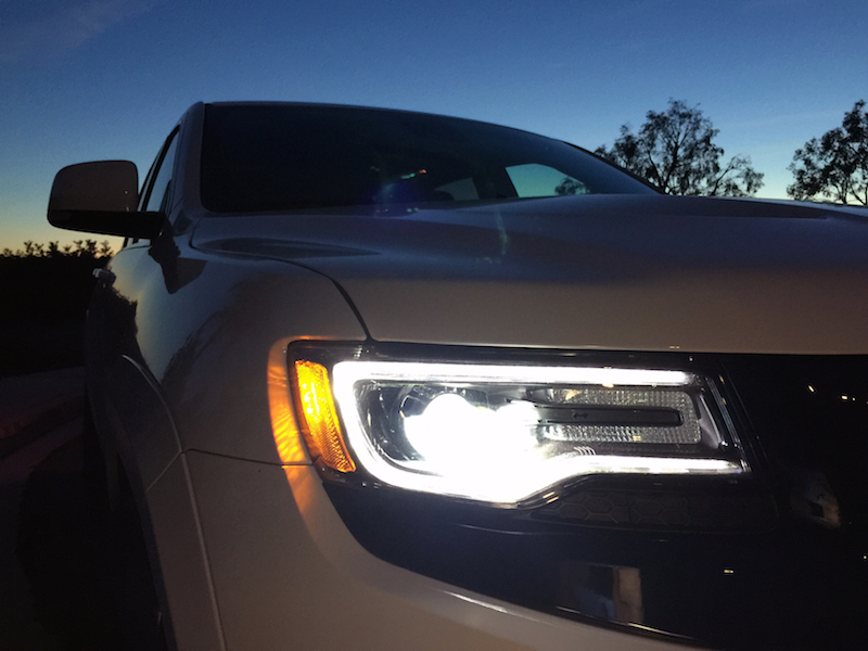 Old Jeep Night Headlights : Chris dukeduke s drive jeep grand cherokee srt