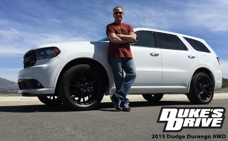 Duke's Drive: 2015 Dodge Durango AWD