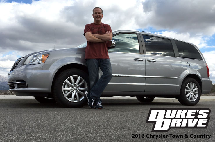 Duke's Drive: 2016 Chrysler Town & Country Platinum