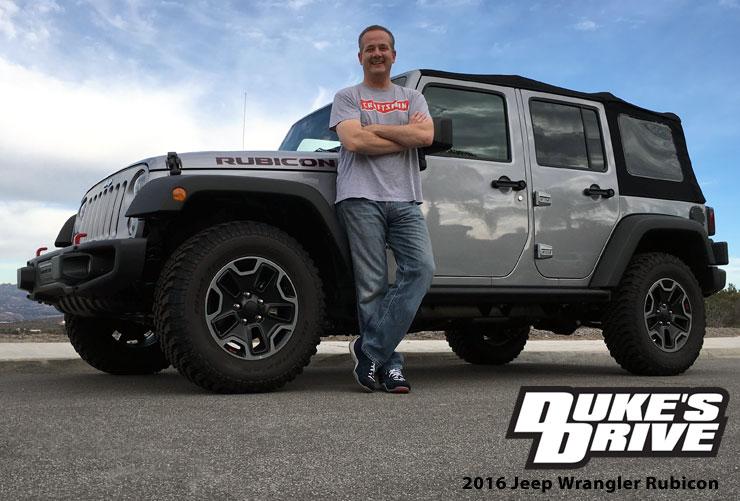 Duke S Drive 2016 Jeep Wrangler Unlimited Rubicon