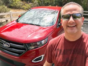 2016 Ford Edge Chris Selfie