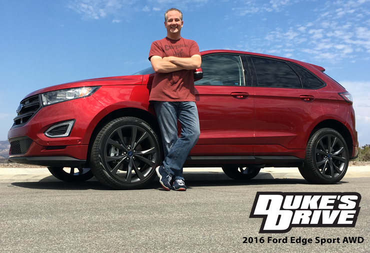 Duke's Drive: 2016 Ford Edge Sport AWD