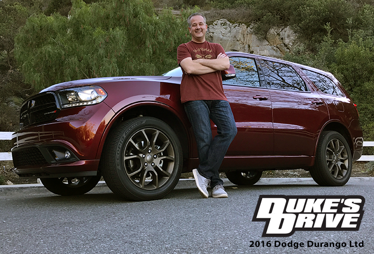 Duke's Drive: 2016 Dodge Durango Limited Brass Monkey