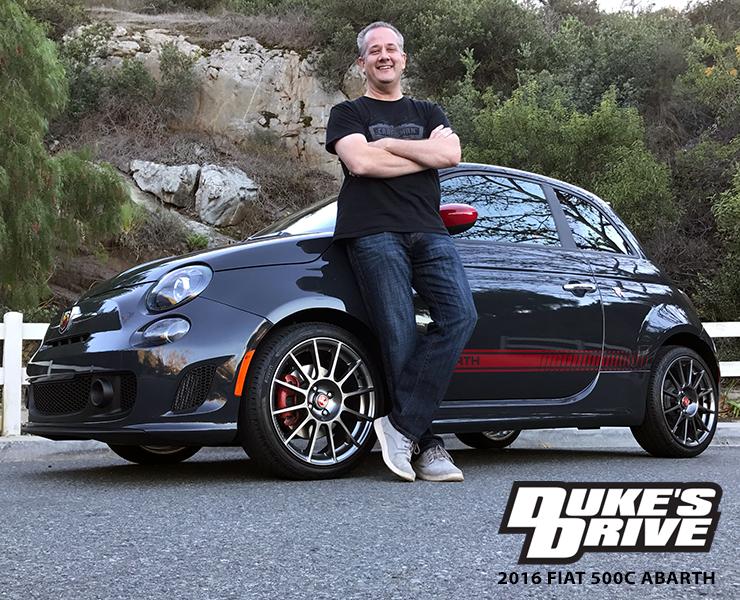 Duke's Drive: 2016 FIAT 500C ABARTH