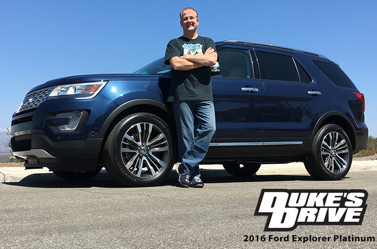 Duke's Drive: 2016 Ford Explorer Platinum