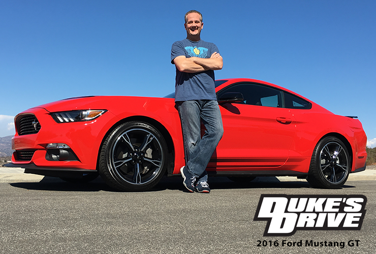 Duke's Drive: 2016 Ford Mustang GT