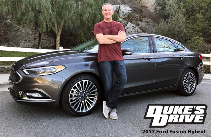 Duke's Drive: 2017 Ford Fusion Hybrid