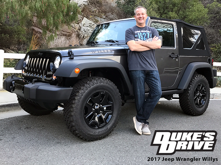 Duke's Drive: 2017 Jeep Wrangler Willys Wheeler
