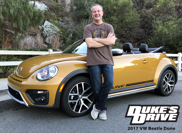 Duke's Drive: 2017 VW Beetle Convertible Dune Edition