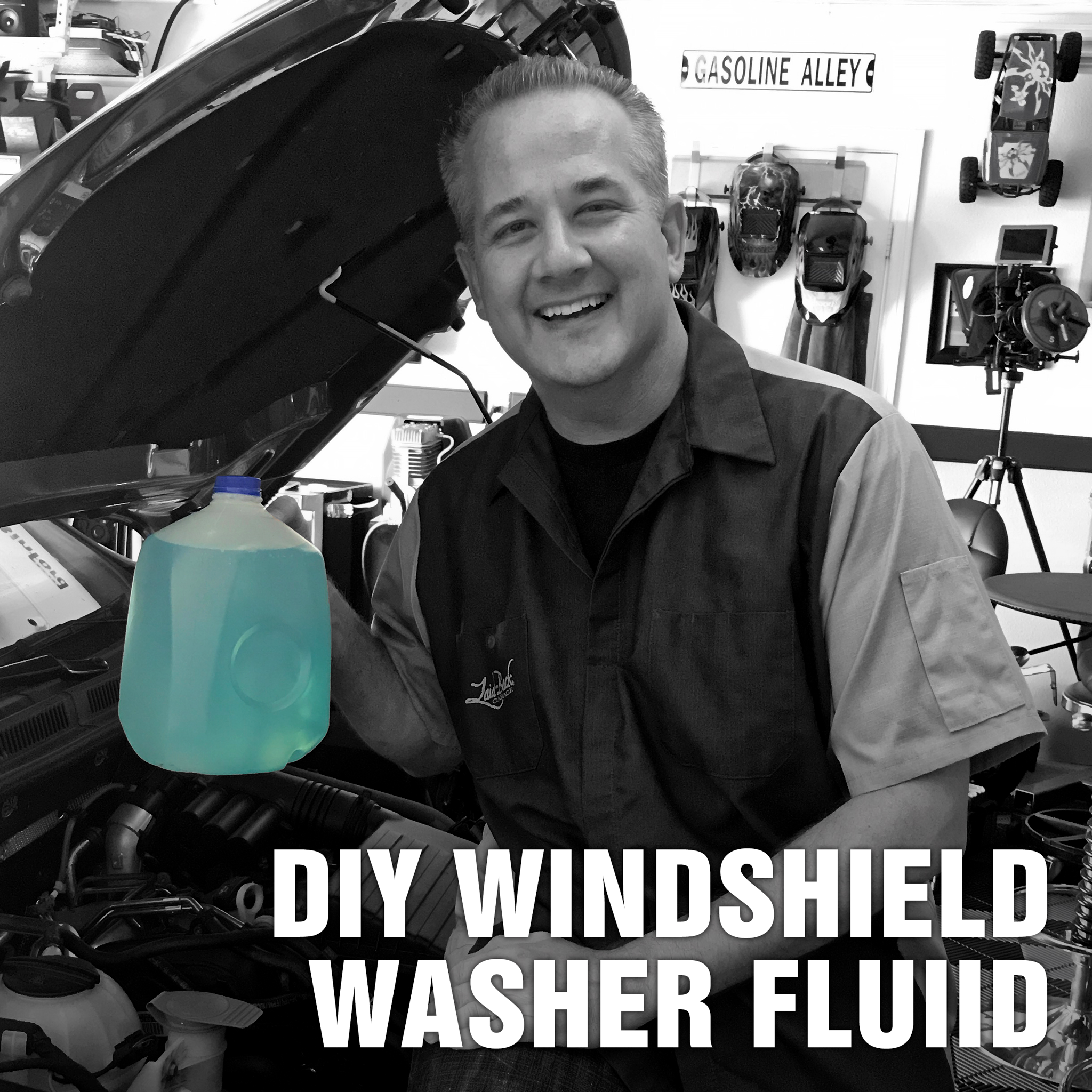 Do You Know What You Really Want Fluid Magazine: DIY Windshield Washer Fluid