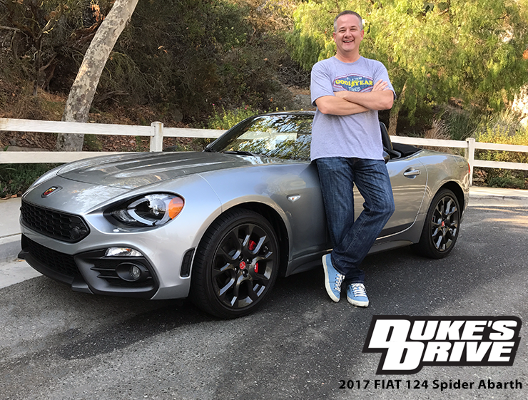Fiat 124 Spider Abarth Review Posted On September 22 2017 By Chris Duke S Drive Is All About My Experiences With Driving New Vehicles
