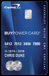Capital One Buypower >> Fall-ing Into a GM - Chris Duke