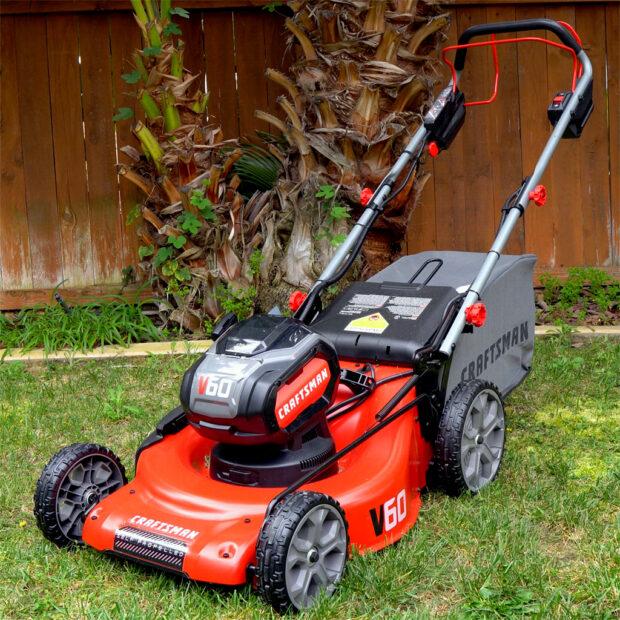 Tool Talk #010: CRAFTSMAN V60 Cordless Lawn Mower - Chris Duke
